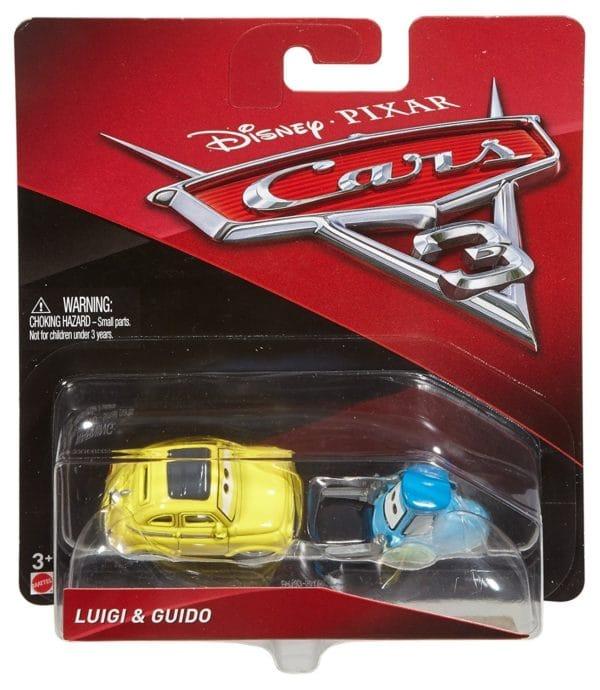 COCHE CARS 3 LUIGI&GUIDO