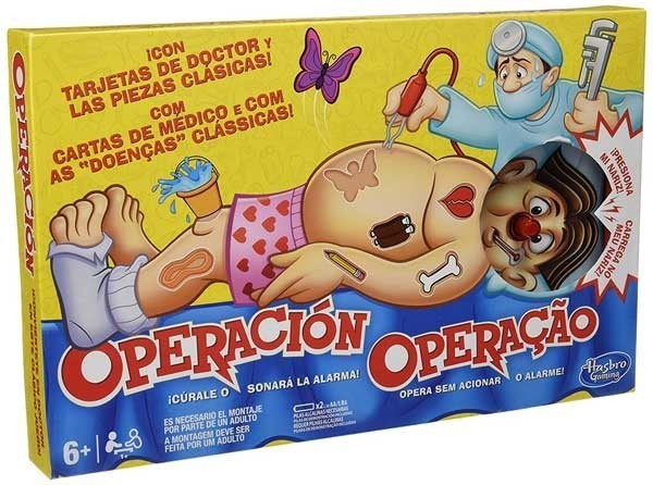 HASBRO - JUEGO OPERACION