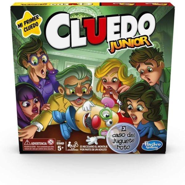 HASBRO - JUEGO CLUEDO JUNIOR