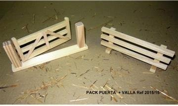 JUEGO DE PUERTA + VALLA - ENCIERRO