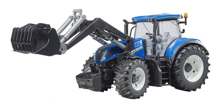 BRUDER - NEW HOLLAND TRACTOR CON PALA