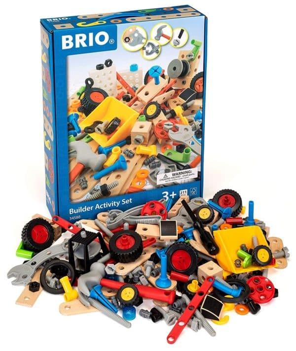 BRIO - SET DE CONSTRUCCION MADERA 211PZS