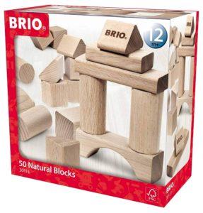 BRIO - BLOQUES DE CONSTRUCCION 50PZS