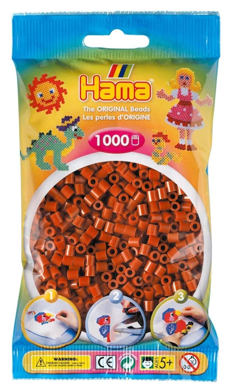 HAMA - SOBRE MIDI 1000 PZS MARRON