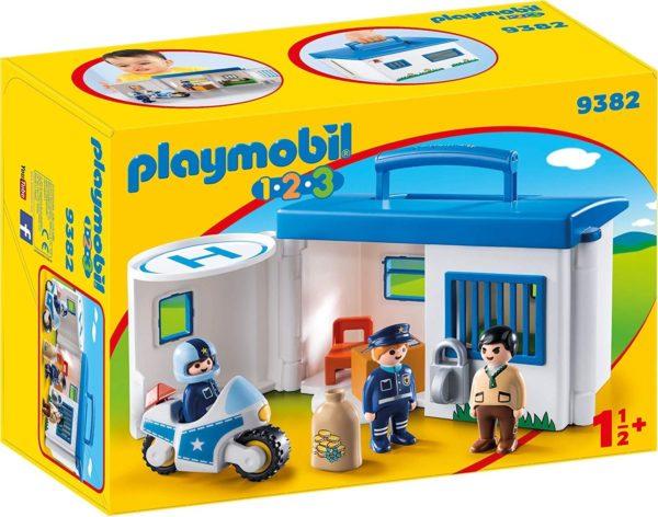 PLAYMOBIL 1.2.3.COMISARIA POLICIA