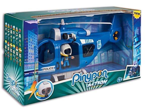 PINYPON - HELICOPTERO DE POLICIA