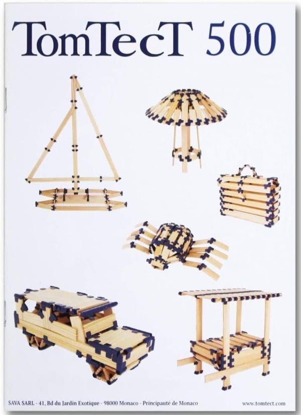 KAPLA - TOMTECT CONSTRUCCION 500 PZS