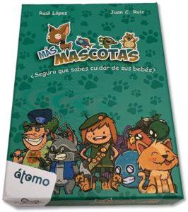 ATOMO-JUEGO DE CARTAS EXPANSION MASCOTAS