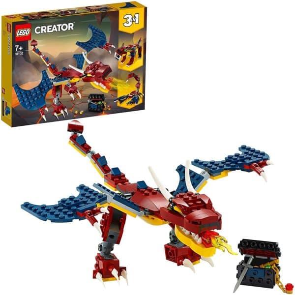 LEGO CREATOR - DRAGON LLAMEANTE