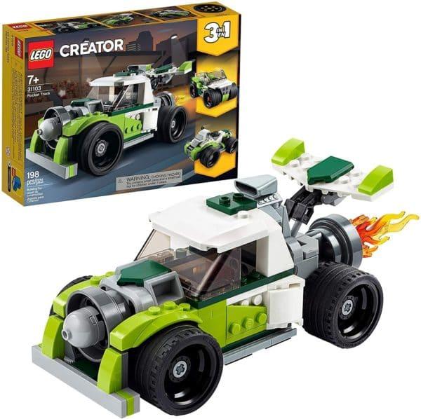 LEGO CREATOR - CAMION A REACCION