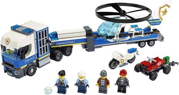 LEGO CITY - TRANSPORTE DE HELICOPTERO