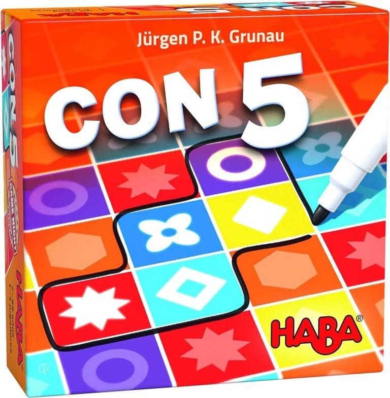 HABA - JUEGO DE LOGICA CON-5