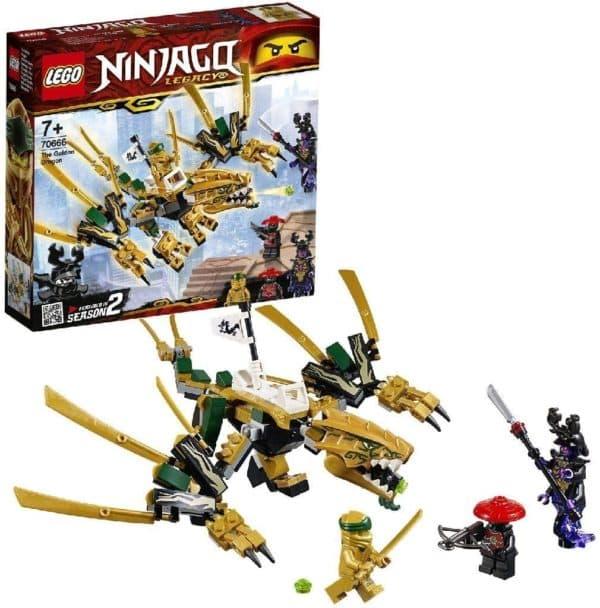 LEGO NINJAGO - DRAGON DORADO