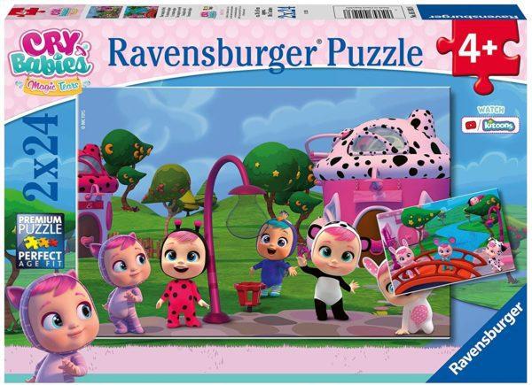 RAVENSBURGER - PUZZLE 2X24PZS BEBES LLOR