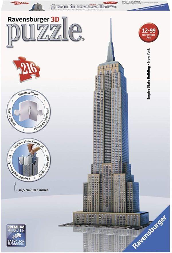RAVENSBURGER - PUZZLE 3D EMPIRE STATE