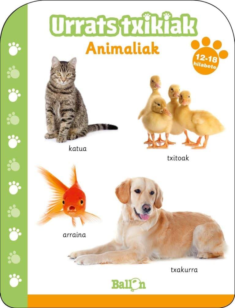 LIBURUA - URATS TXIKIAK ANIMALIAK