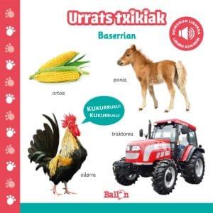 LIBURUA - URRATS TXIKIAK BASERRIAN SOINU