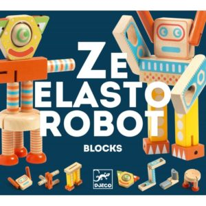 DJECO - ZE ELASTO ROBOT MADERA