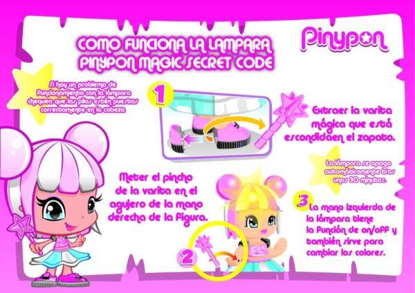 FAMOSA - PINYPON MAGIC SECRET CODE