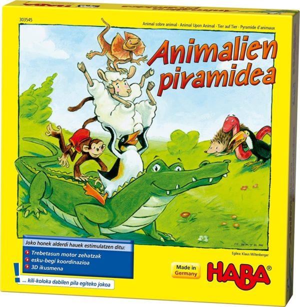 HABA - ANIMALIEN PIRAMIDEA JOKOA EUSKERA