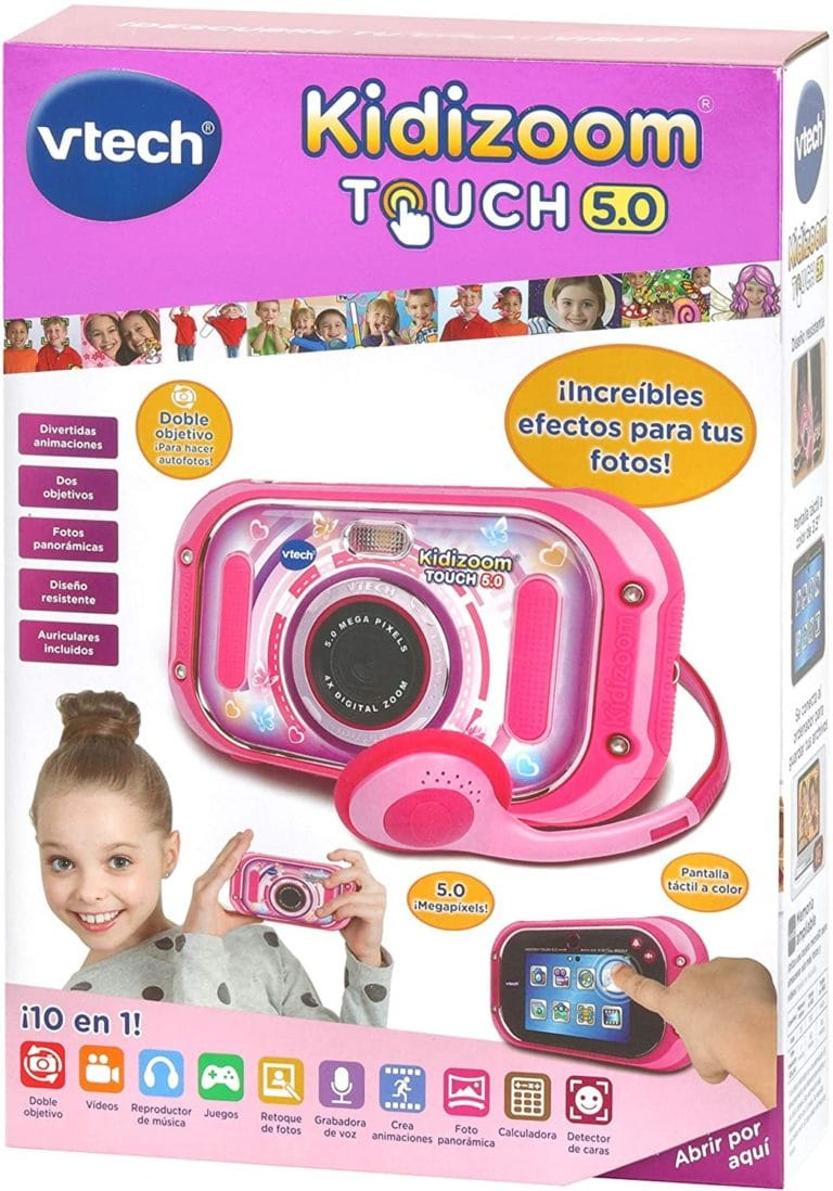 VTECH - KIDIZOOM TOUCH 5.0 ROSA