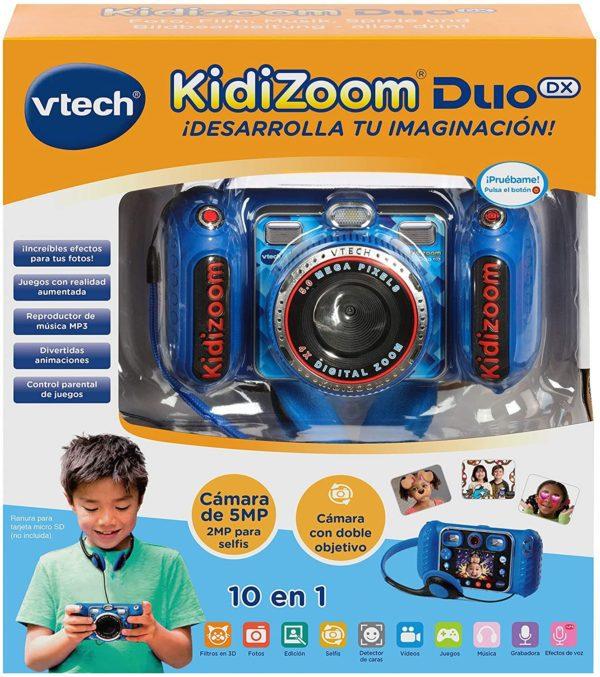 VTECH - KIDIZOOM DUO DX 10 EN 1 AZUL