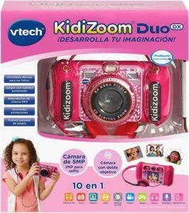 VTECH - KIDIZOOM DUO DX 10 EN 1 ROSA
