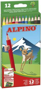 ALPINO - PINTURAS DE MADERA 12UND