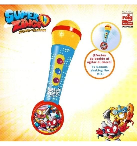 REIG - MICROFONO SUPER ZINGS DE MANO