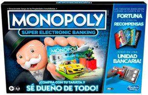 HASBRO- MONOPOLY SUPER ELECTRONIC BANKIG