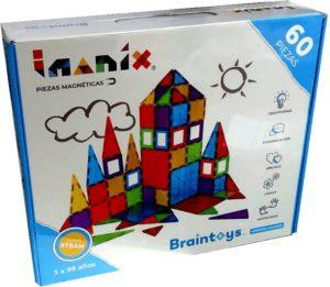 IMANIX - PIEZAS MAGNETICAS 60 PIEZAS