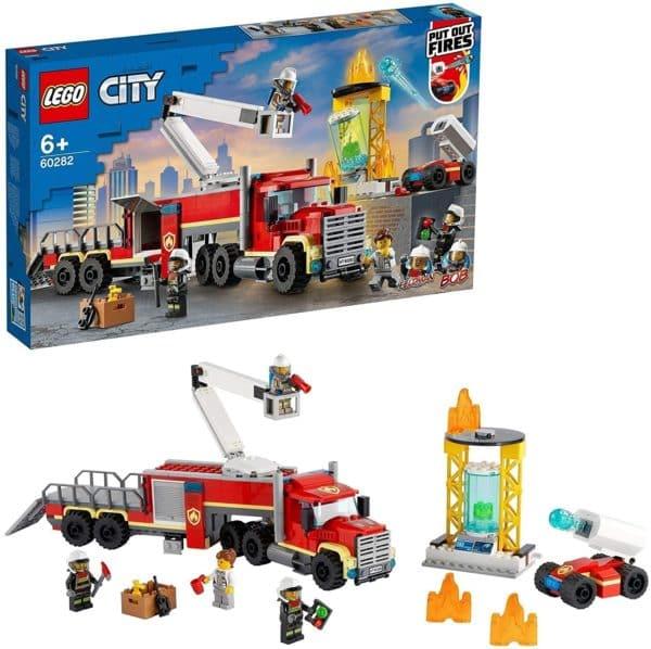 LEGO CITY - UNIDAD CONTROL DE INCENDIOS