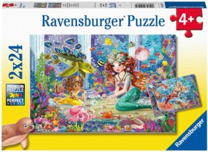RAVENSBURGER - PUZZLE 2X24 SIRENAS