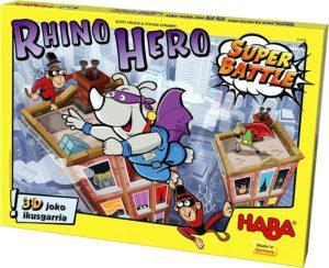 HABA - RHINO HERO SUPER BATLE EUSKARAZ