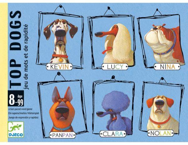 DJECO - JUEGO DE CARTAS TOP DOGS