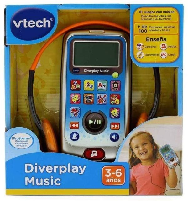 VTECH - DISPLAY MUSIC CON AURICULARES