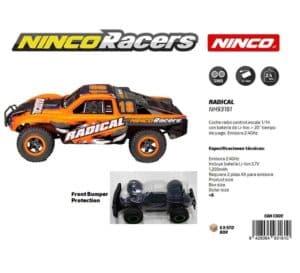 NINCO - NINCORACERS RADICAL R-C BATERIA