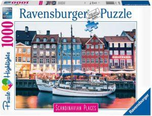 RAVENSBURGER-PUZZLE 1000 COPENHAGUE